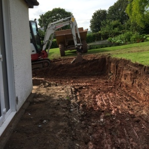 New trench dug