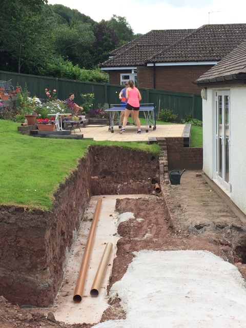 foundations behind new lounge