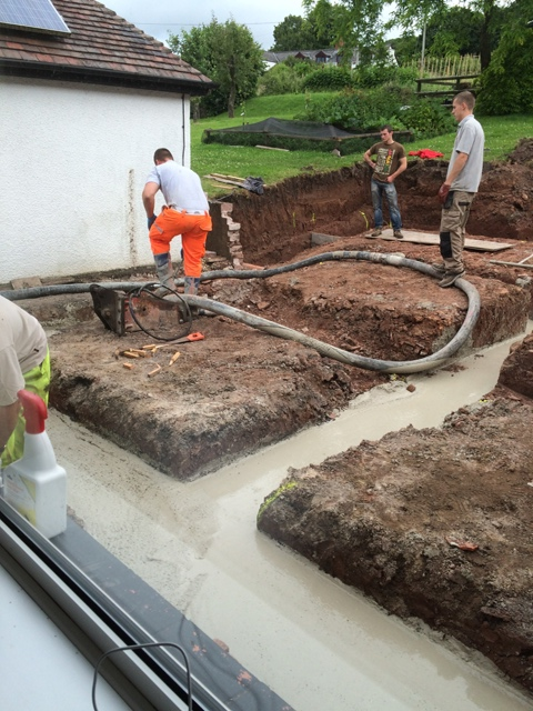 more concrete filling