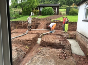 trenches being filled 5