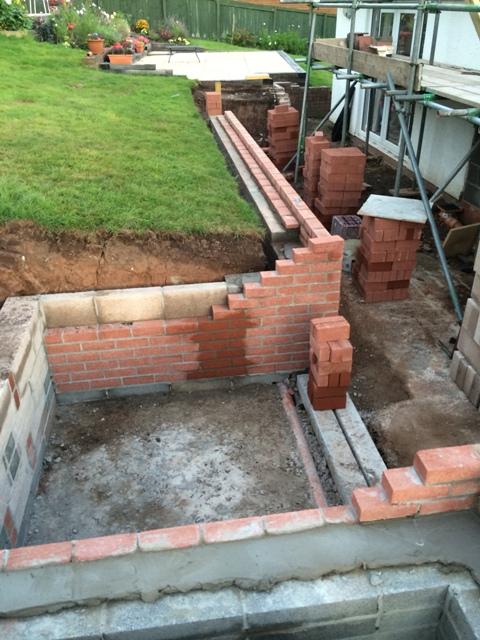 Wall progress 2