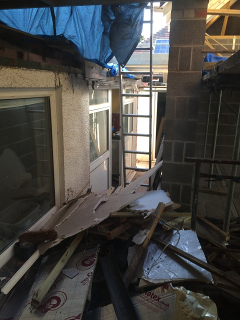 rubble-and-old-ceiling-to-be-removed-from-new-kitchen-walkway