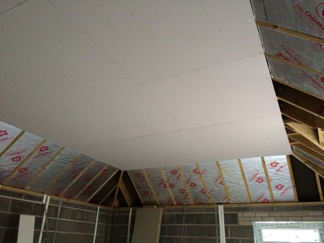 plaster-board-up-on-new-kitchen-ceiling