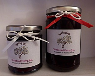 Berries and Cherry Jam 220g and 340g
