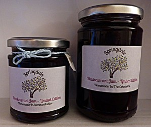 Blakcurrant Jam 220g and 340g