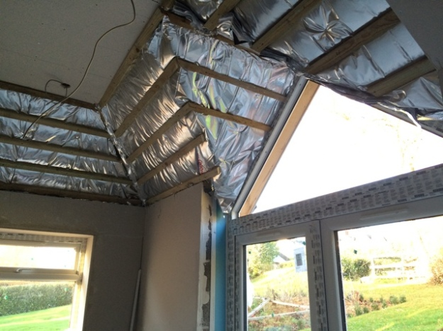 close-up-of-blanket-insulation-above-patio-doors