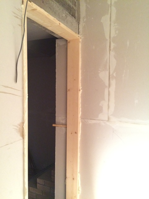 new-door-frame-around-new-bathroom-door