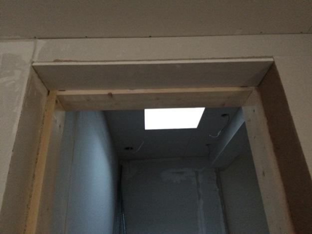 plasterboard-and-plastering-around-new-doorway-into-new-bathroom