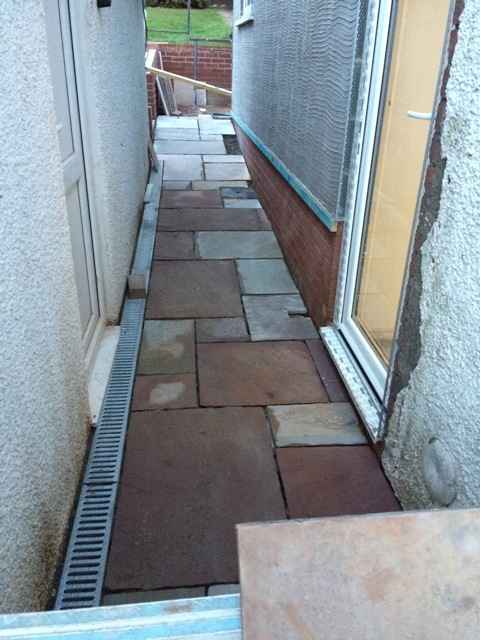 path-between-garage-and-new-kitchen-slabs-cut