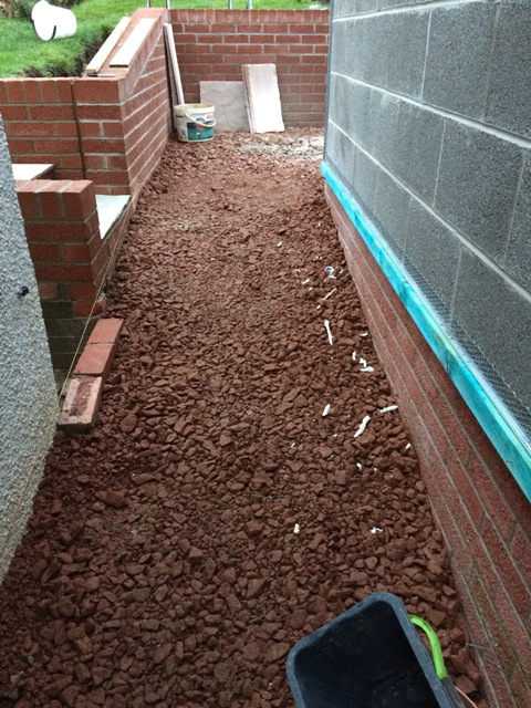 ramp-and-walkway-between-garage-and-new-kitchen-now-built-up-wall-completed-to-tie-in-with-existing-wall