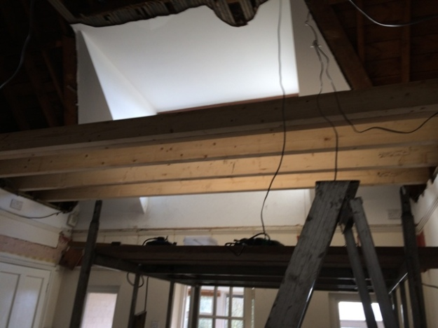 new-beams-going-in-for-master-bedroom