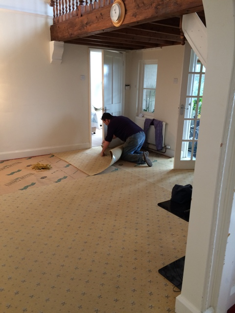 removing-carpets-in-preparation-for-an-upstairs-master-bedroom