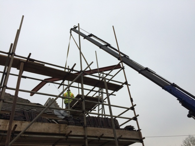 second-beam-being-craned-in