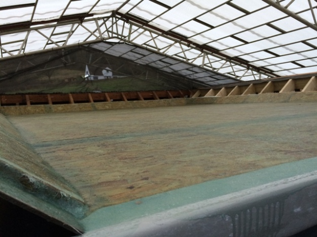 flat-roof-1st-coat-applied-onto-roof-over-new-upstairs