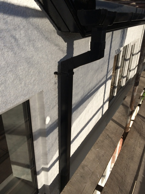 New guttering and down pipes pic 2