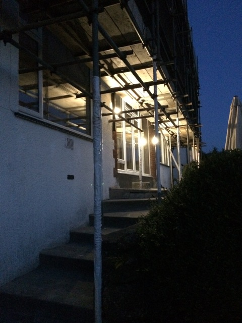 New outside sensor lights for Springdale, wired and installed by Joe - Ballan Electrical