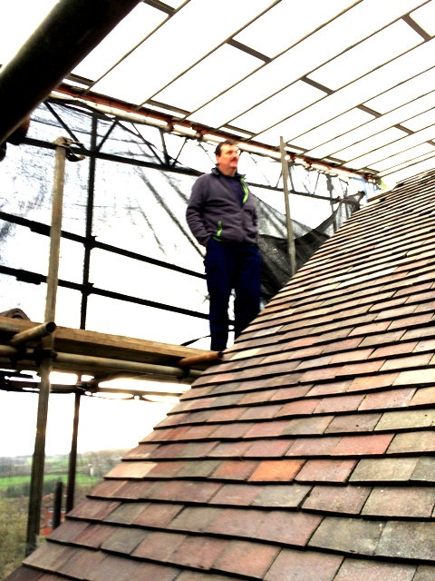 Paul on scaffolding