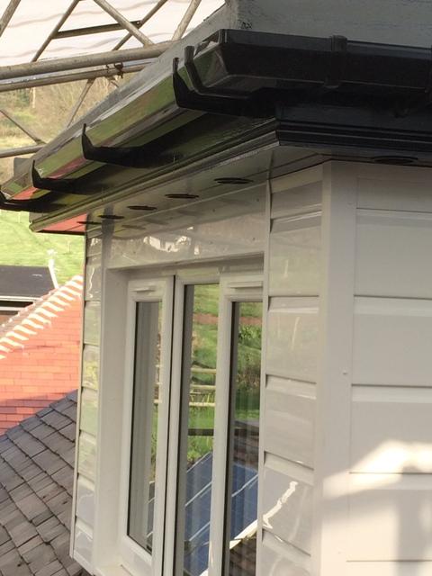 Vents complete under dormer roof