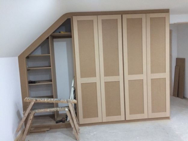 Wardrobes - progress so far