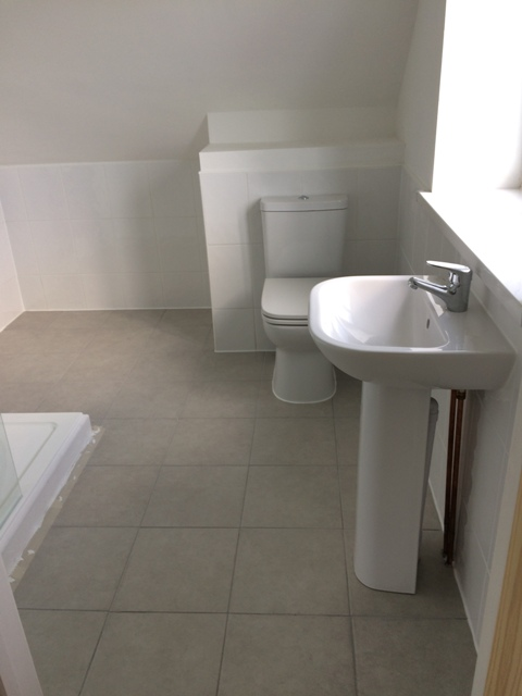 Bathroom all finished